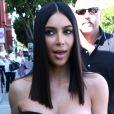 Kim Kardashian est allée déjeuner à Beverly Hills, le 30 mars 2017.