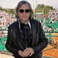 Ilie Nastase, l'ancien joueur de tennis professionnel roumain, au Monte-Carlo Country-Club à Roquebrune-Cap-Martin le 12 avril 2016.