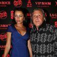 Exclusif - Ilie Nastase et sa femme Amalia - Soiree au VIP Room avec les celebrites qui ont participe a la premiere journee du Classic Tennis Tour a Saint-Tropez, le 12 juillet 2013.