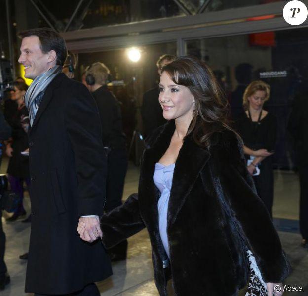 Le prince Joachim et la princesse Marie de Danemark au Concert Hall de Copenhague, le 17/01/09