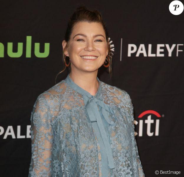 Ellen Pompeo à la soirée PaleyFest: Grey's Anatomy au théâtre The Dolby à Hollywood, le 19 mars 2017 © Denis Guignebourg/Bestimage
