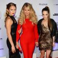 Christie Brinkley avec ses filles Sailor Brinkley Cook et Alexa Ray Joel à la soirée Sports Illustrated Swimsuit 2017 à New York, le 16 février 2017.