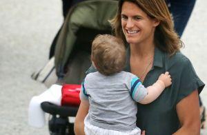 Amélie Mauresmo maman pour la deuxième fois : Elle dévoile une photo du bébé