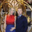 Ronan Keating et sa femme Storm au lancement de la collection Da Vinci du fabricant de montres de luxe suisse IWC Schaffhausen au salon international de la haute horlogerie (SIHH) à Genève, le 17 janvier 2017.