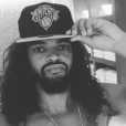 Joakim Noah pose avec la casquette des Knicks sur Instagram, 2016.