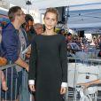 """Claire Holt - David Duchovny reçoit son étoile sur le """"Walk of Fame"""" à Hollywood. Le 25 janvier 2016"""