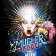 L'affiche du spectacle Mugler Follies au théâtre Comédia à Paris