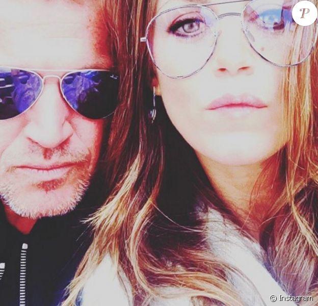 Benjamin Castaldi et sa compagne Aurore. Mai 2017.