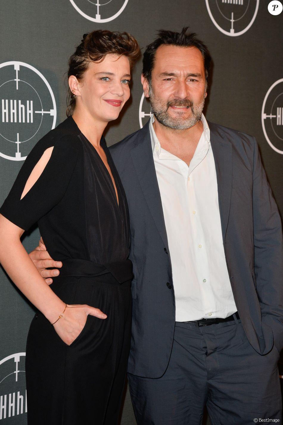 """Gilles Lellouche et Céline Sallette - Avant-première du film """"HHhH"""" au cinéma UGC Normandie à Paris, le 9 mai 2017. © Coadic Guirec/Bestimage"""