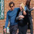 Exclusif - Candice Swanepoel et son fiancé Hermann Nicoli à New York, le 9 mai 2016.