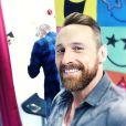 Frank Delay en mode selfie, pose sur Instagram, 2016