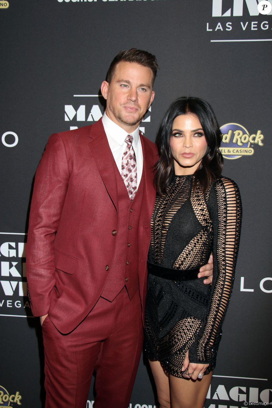 Connu Channning Tatum et sa femme Jenna Dewan-Tatum à la soirée d  YQ67