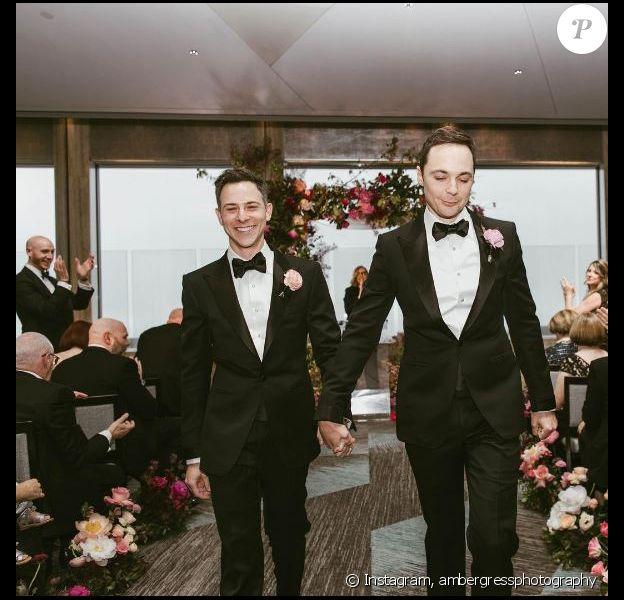 Jim Parsons a épousé son chéri Todd, le 13 mai 2017 à New York