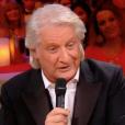 """Patrick Sébastien et Marie Myriam dans """"Le plus grand cabaret du monde"""", le 29 avril 2017 sur France 2."""