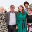 "Millicent Simmonds, Julianne Moore, Todd Haynes, Jaden Michael et Michelle Williams - Photocall du fim ""Wonderstruck"" lors du 70e Festival International du Film de Cannes, France, le 18 mai 2018. © Borde-Jacovides-Moreau/Bestimage"