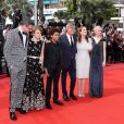 "Brian Selznick, Millicent Simmonds, Jaden Michael, Todd Haynes, Julianne Moore et Michelle Williams - Montée des marches du film ""Wonderstruck"" lors du 70e Festival International du Film de Cannes. Le 18 mai 2017. © Borde-Jacovides-Moreau/Bestimage"
