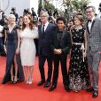 "Michelle Williams, Julianne Moore, Todd Haynes, Jaden Michael, Millicent Simmonds et Brian Selznick - Montée des marches du film ""Wonderstruck"" lors du 70e Festival International du Film de Cannes. Le 18 mai 2017. © Borde-Jacovides-Moreau / Bestimage"