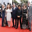 "Michelle Williams, Julianne Moore, Todd Haynes, Jaden Michael, Millicent Simmonds et Brian Selznick - Montée des marches du film ""Wonderstruck"" lors du 70ème Festival International du Film de Cannes. Le 18 mai 2017. © Borde-Jacovides-Moreau / Bestimage  Red carpet for the movie ""Wonderstruck"" during the 70th Cannes International Film festival. On may 18th 201718/05/2017 - Cannes"
