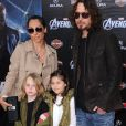 "Chris Cornell - Avant-première du film ""The Avengers"" à Hollywood, le 11 avril 2012."
