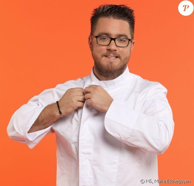 """Carl Dutting (30 ans) - Candidat de """"Top Chef 2017"""" sur M6."""
