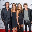 "Cindy Crawford avec son mari Rande Gerber et leurs enfants Kaia et Presley à la soirée ""The Daily Front Row's Fourth Annual Fashion Media Awards"" à New York, le 8 septembre 2016. © Mario Santoro-AdMedia via Zuma Press/Bestimage"