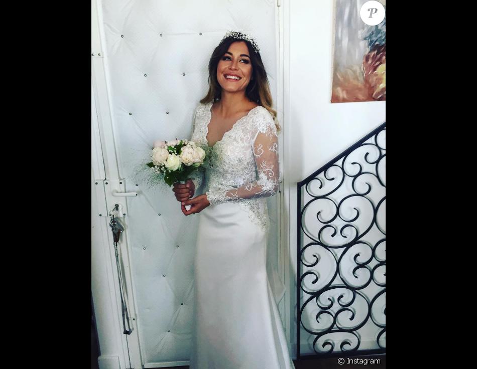 Anaïs Camizuli s'est mariée le 13 mai 2017.