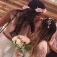 Manon et Anaïs Camizuli, soeurs très complices, le 13 mai 2017. Anaïs se marie !