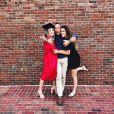 Mike Horn a passé le week-end avec ses filles Annika et Jessica. Cette dernière a été dîplomée de l'université de Boston. Mai 2017.