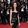 """Andie MacDowell - Montée des marches du film """"Mise à Mort du Cerf Sacré"""" lors du 70ème Festival International du Film de Cannes. Le 22 mai 2017."""