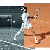 Novak Djokovic : Nouvel ambassadeur de Lacoste, stylé pour Roland Garros