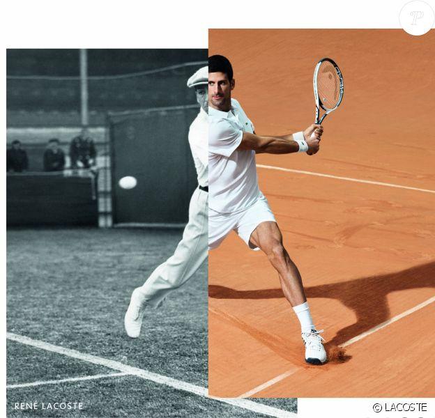 Novak Djokovic est le nouvel ambassadeur de Lacoste.