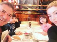 Lola et Jean-Marie Bigard : Moment complice avec leurs jumeaux Jules et Bella