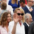 Uma Thurman (Présidente du jury Un Certain Regard en 2017) au photocall anniversaire du 70e Festival International du Film de Cannes, France, le 23 mai 2017. © Borde-Jacovides-Moreau/Bestimage
