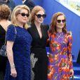 Catherine Deneuve, Jessica Chastain et Isabelle Huppert au photocall anniversaire du 70e Festival International du Film de Cannes, France, le 23 mai 2017. © Borde-Jacovides-Moreau/Bestimage