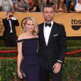 "Naomi Watts et son compagnon Liev Schreiber - 21ème cérémonie annuelle des ""Screen Actors Guild Awards"" à l'auditorium ""The Shrine"" à Los Angeles, le 25 janvier 2015."