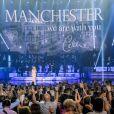 Céline Dion a rendu hommage aux victimes de l'attentat de Manchester, depuis Las Vegas, le 23 mai 2017