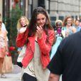 Katie Holme à New York le 18 juillet 2012.