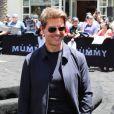 """Tom Cruise - Universal Pictures dévoile un sarcophage de presque 23 mètres de hauteur lors du """"Mummy Day"""", en l'honneur du film """"The Mummy"""" à Hollywood, le 20 mai 2017."""