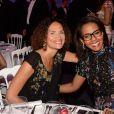 Semi-exclusif - Frédérique Bedos, Audrey Pulvar - Soirée de la fondation Positive Planet au Palm Beach lors du 70ème festival de Cannes le 24 mai 2017. © Rachid Bellak/Bestimage