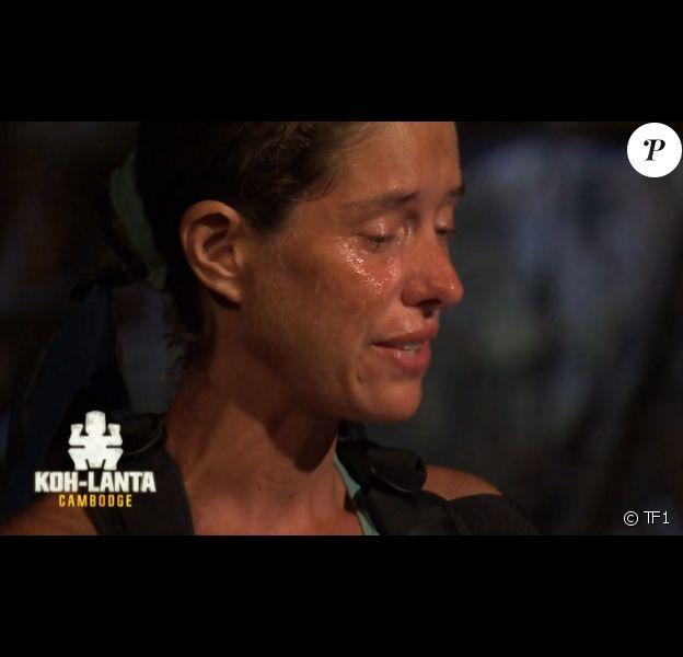 """Claire est éliminée - """"Koh-Lanta Cambodge"""", épisode du 26 mai 2017 sur TF1."""