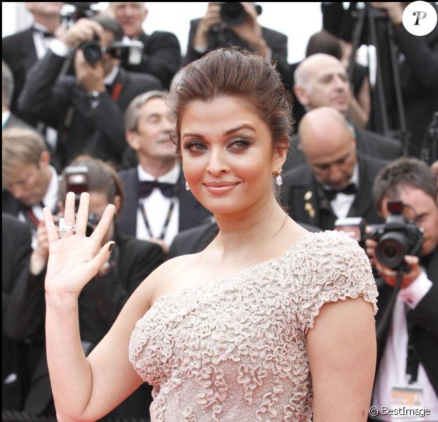 Aishwarya Rai - Ouverture du Festival de Cannes le 11 mai 2011