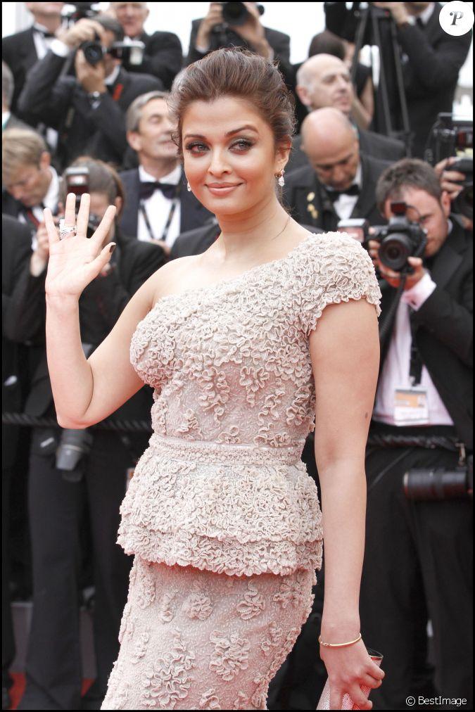 Aishwarya Rai - Ouverture du Festival de Cannes le 11 mai