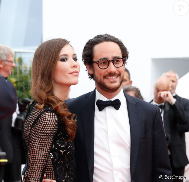 """Thomas Hollande et Emilie Broussouloux - Montée des marches du film """"L'Amant Double"""" lors du 70e Festival International du Film de Cannes. Le 26 mai 2017. © Borde-Jacovides-Moreau/Bestimage"""