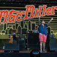 Mac Miller en concert lors du Festival Rock in Rio à Lisbonne le 1er juin 2014.