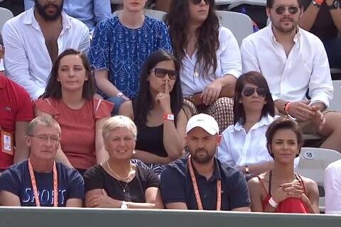 Shy'm : Nouvelle tête pour soutenir Benoît Paire écrasé à Roland-Garros