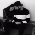 Shy'm a publié une photo avec Benoît Paire sur Instagram, le 14 février 2017.