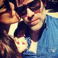 Sonia Rolland pose avec son compagne Jalil Lespert sur Instagram le 11 mai 2017.
