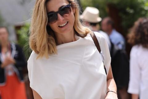 Julie Gayet : Légère et radieuse à Roland-Garros, elle ne passe pas inaperçue...