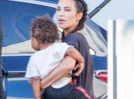 Kim Kardashian : Maman de retour de vacances, avec 20 000 dollars autour du cou