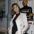 """Mélanie (Secret Story 10) - Photocall du spectacle """"Ecroué de rire"""" au théâtre du Gymnase Marie-Bell de Paris, France, le 14 avril 2017. © Marc Ausset-Lacroix/Bestimage"""